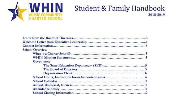 whin-student-family-handbook-2018-2019-cover-en